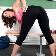 Sexy Ass Yoga Milf Bending Over
