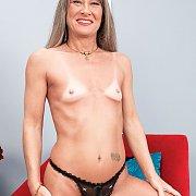 Topless Tiny Titties Mature Mom