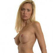 Topless Milf With Firm Fake Boobs
