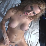 Very Excited With A Great Erection with Alessandra Blonde