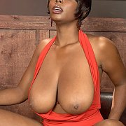 Black Woman With Huge Tits