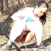 Vinna Gushes In The Woods with Vinna Reed