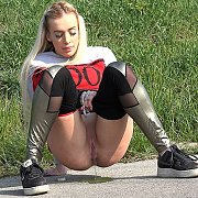 Jogger Desperation with Daisy Lee