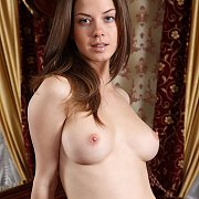 Erotica Brunette Girl Posing Nude