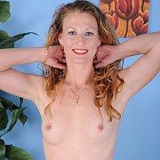 Hot Redhead Milf Posing Nude