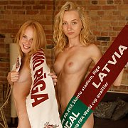 Two Young Beauties From Latvia