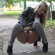 Hot Desperate Blonde with Victoria Pure