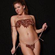 Jungle Bikini Teasing Girl