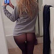 Sweet Pantyhose Ass Selfie Gal Looking For Fun