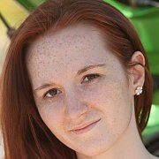 Freckled Face Young Redhead Amateur