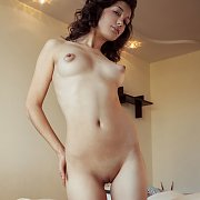 Puffy Nipples Treat With Smooth Pussy