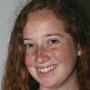 Ginger Teen With Tons Of Freckles