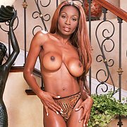 Fake Tits Ebony Porn Woman