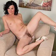 Naked Hairy Pussy Mother In Her Heels