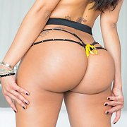 Hot Bubble Ass Latina Looking Back