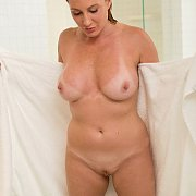 Nude Mature Woman After A Shower