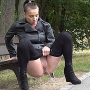 Pissing In The Park with Victoria Daniels