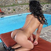 Latina Sweetheart Teases On All Fours