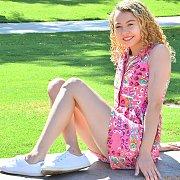 Pink Flower Dress with Allie Addison