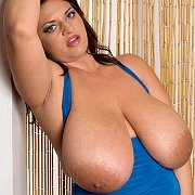 Plump Beauty With Her Huge Tatas Out