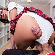 Eighteenie Sitting On The Bed