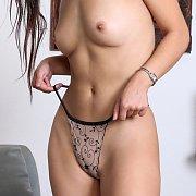 Busty College Coed In Her Panties