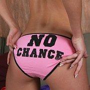Cute Teen Butt In Pink Panties