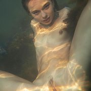 Nude Teen Underwater At The Lake