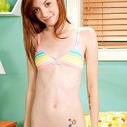 Nice Skinny Redheaded Teenager