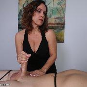 Mature Handjob Expert Mrs Candi Teasing the Orgasm