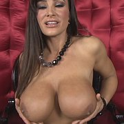 Red Satin with Lisa Ann
