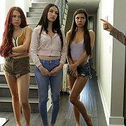Girls Left Alone with Jade Baker, Milana Ricci, Sabina Rouge