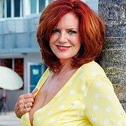 Lusty Mature Redhead Flashing