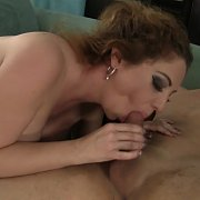 Busty Stockings Milf Riding Cock