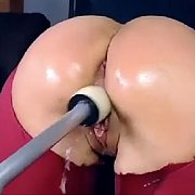 Machine Fuck Squirting On Cam