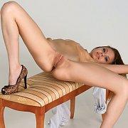 Just Legal Teen Cutie In Heels Spreading Legs