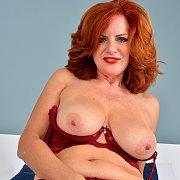 Hot Busty Mature Redhead