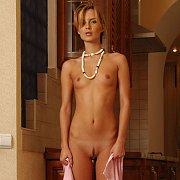 Erotic Skinny Nude Teen Model With Little Titties