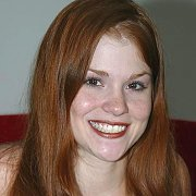 Freckled Face Classic Redhead Tiffany Smiling