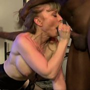 Mature Star Nina Hartley Goes Interracial