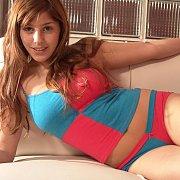 Blue Pink Nightwear Stripping Latina