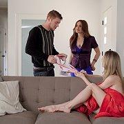 Krissy Lynn Gives Anya Olsen  a Valentine Surprise