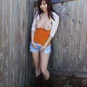Busty Coed Cowgirl Diddle