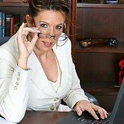 Masturbating Milf Secretary At Work