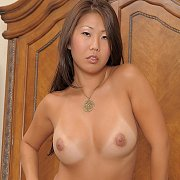 Tan Lines Asian Beti Naked In Her Heels