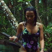 Taylor Russell Wet In Her Swimsuit