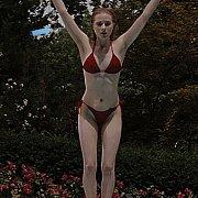 Red Bikini On Coed Aged Evan Rachel Wood