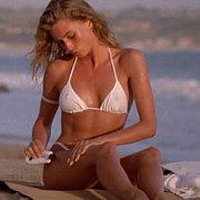 White Bikini Nicolette Sheridan Back In The Eighties