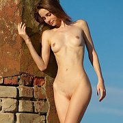 Beautiful Erotic Girl With A Slim Body