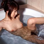 Japanese Gal In The Tub